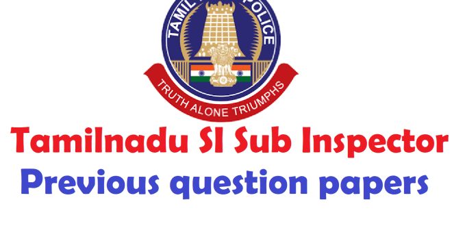 police model question paper pdf