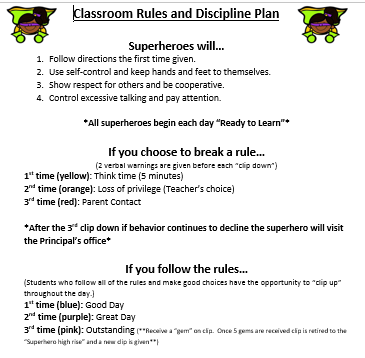how to maintain discipline in classroom pdf