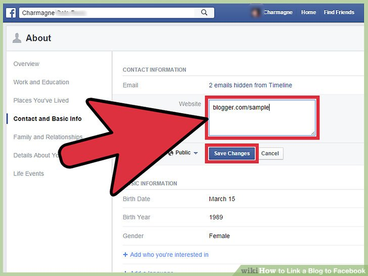 how to attach pdf link into facebook