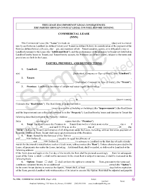 california commercial lease agreement pdf