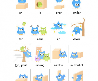 prepositions of place time pdf
