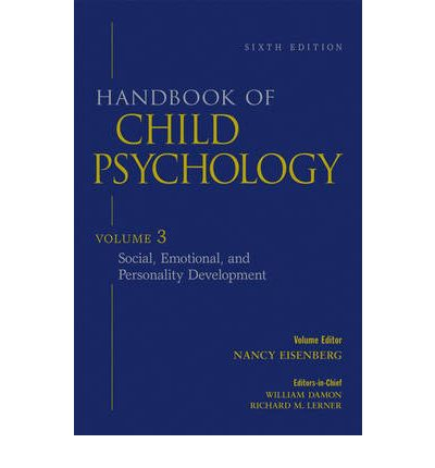 handbook of child psychology social emotional and personality development pdf