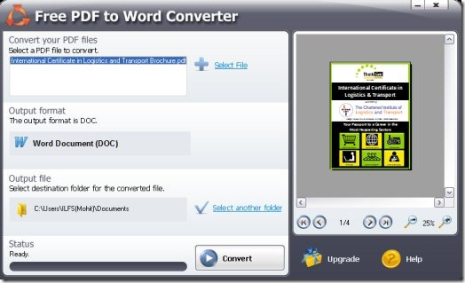 word to pdf converter software online
