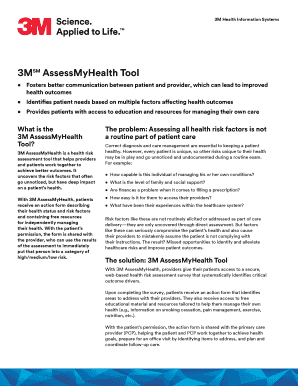 health risk assessment tool pdf