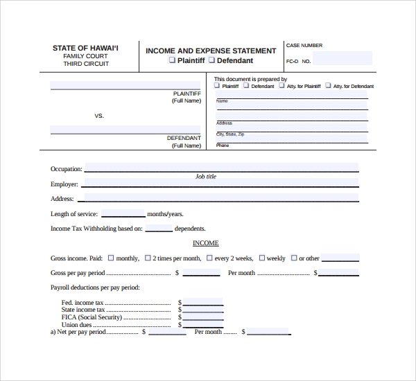 income and expenditure account format pdf