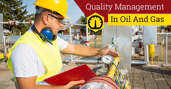 quality control in oil and gas industry pdf
